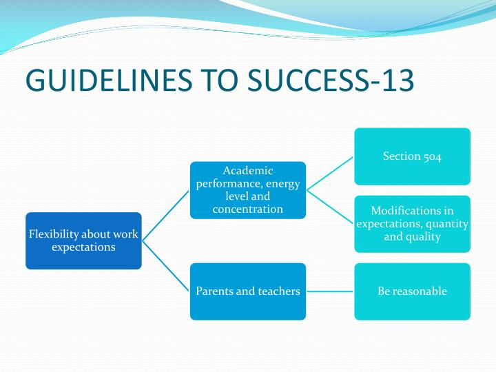 GUIDELINES TO SUCCESS-13
