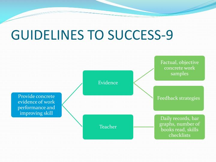 GUIDELINES TO SUCCESS-9