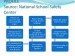 profile source national school safety center