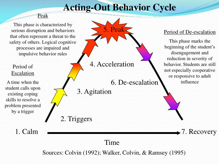 Acting-Out Behavior Cycle