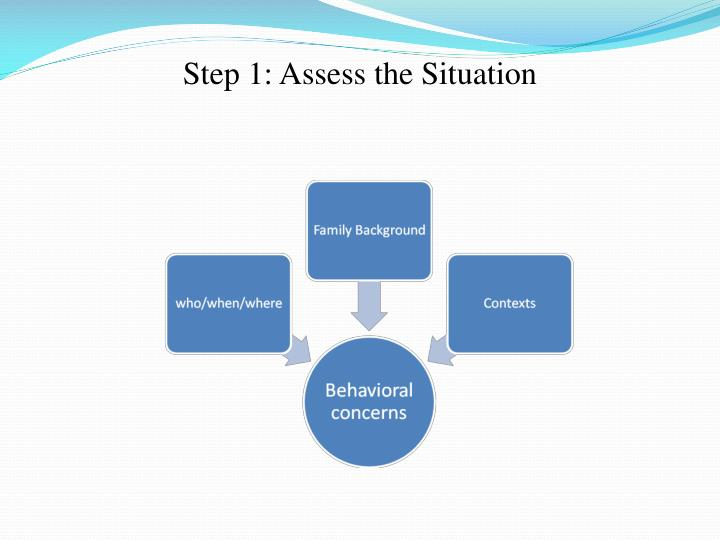 Step 1: Assess the Situation