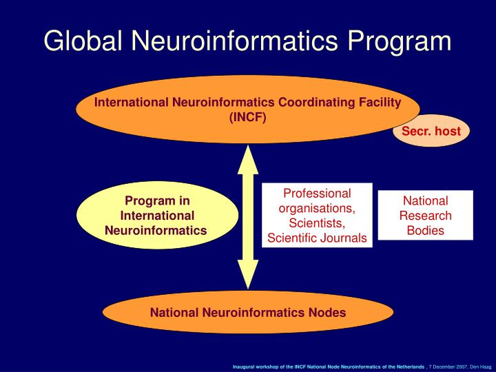 Global Neuroinformatics Program