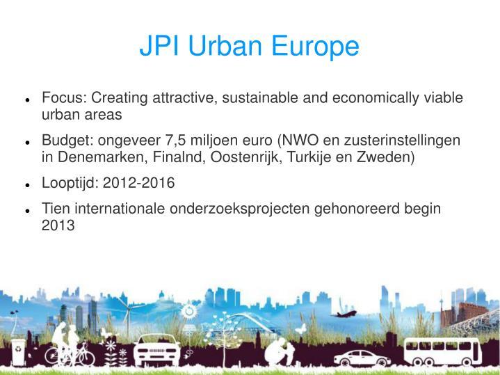 JPI Urban Europe