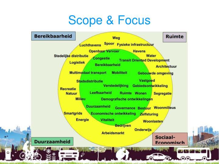 Scope & Focus
