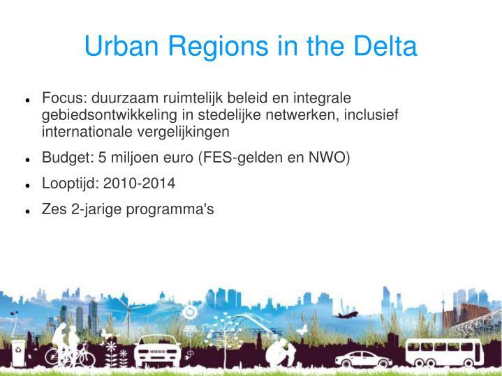 Urban Regions in the Delta