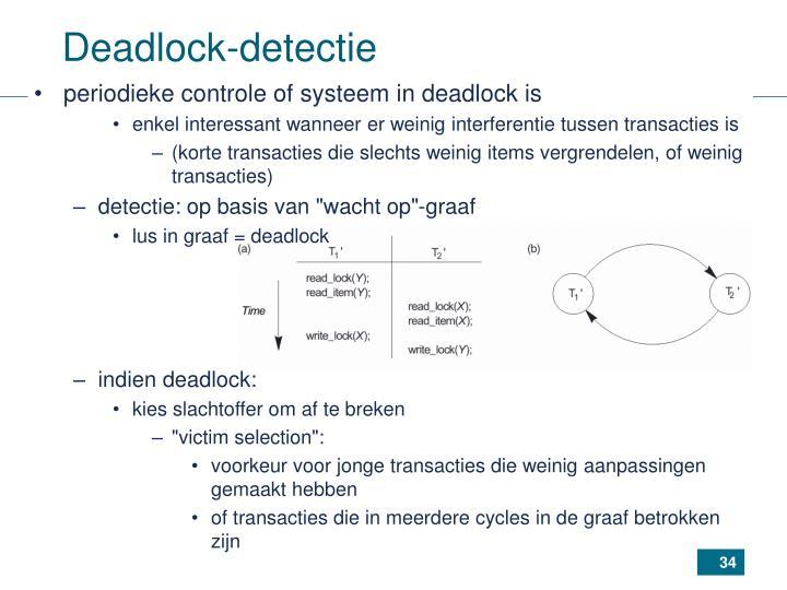 Deadlock-detectie