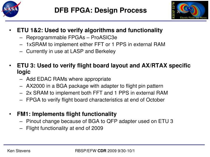 DFB FPGA: Design Process