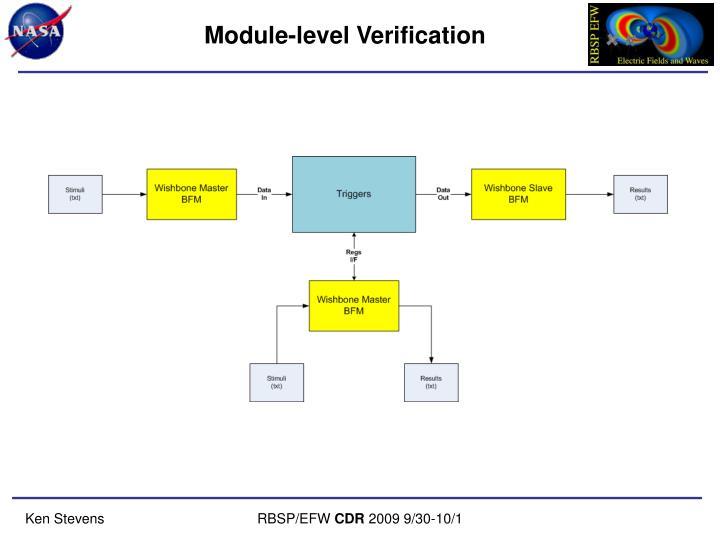 Module-level Verification