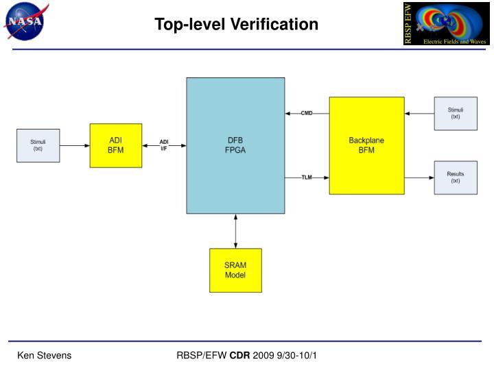 Top-level Verification