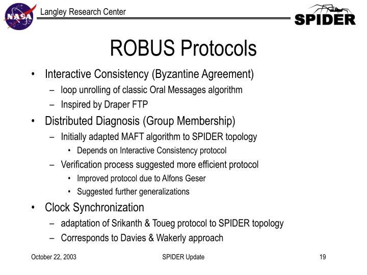 ROBUS Protocols
