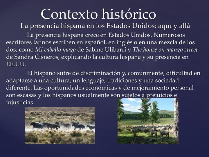La presencia hispana en los Estados Unidos: aquí y allá
