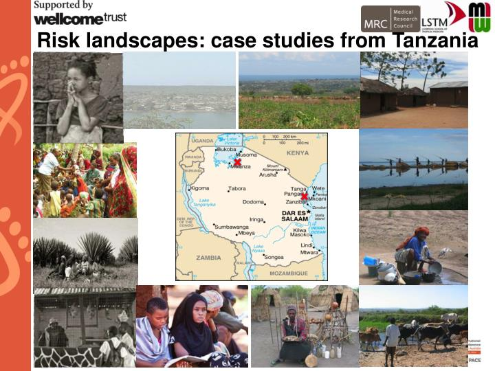 Risk landscapes: case studies from Tanzania