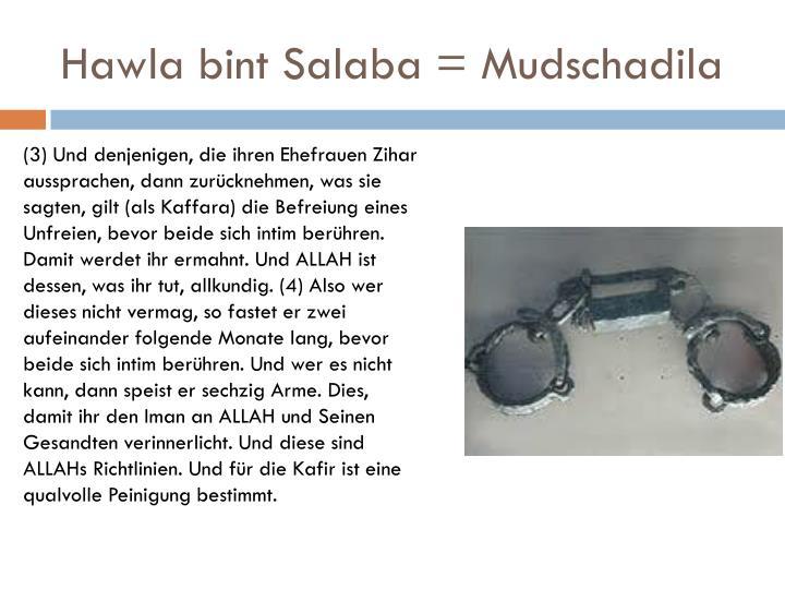 Hawla bint Salaba = Mudschadila
