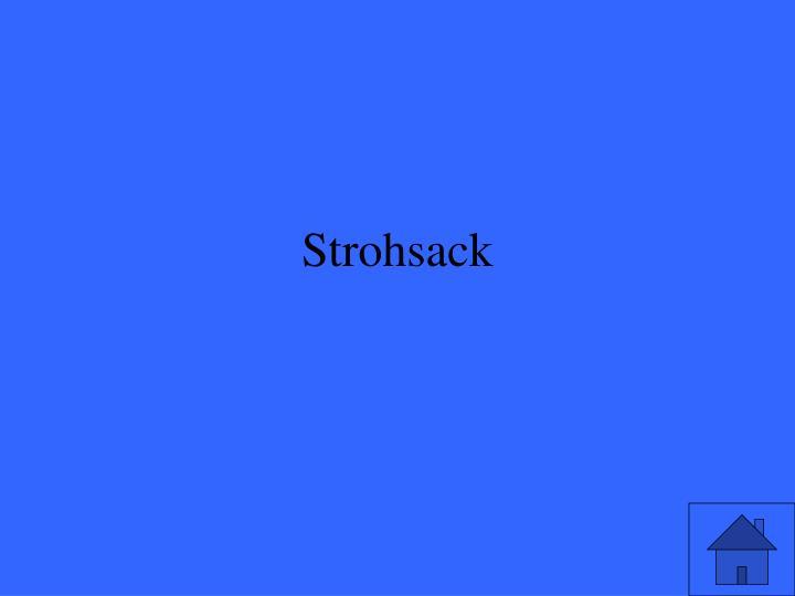 Strohsack