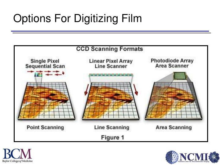 Options For Digitizing Film