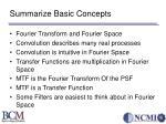 summarize basic concepts