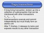 saga transactions