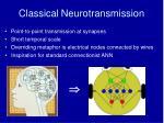 classical neurotransmission