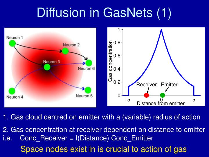 Diffusion in GasNets (1)