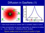 diffusion in gasnets 1
