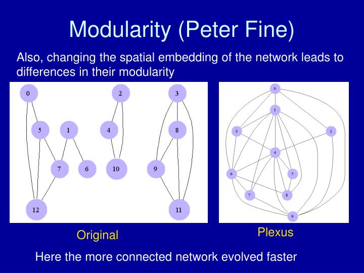 Modularity (Peter Fine)