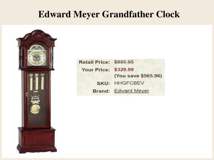 Edward Meyer Grandfather Clock