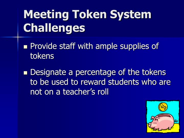 Meeting Token System Challenges