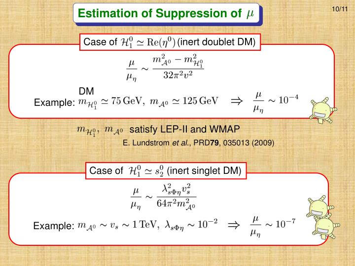 Estimation of Suppression of