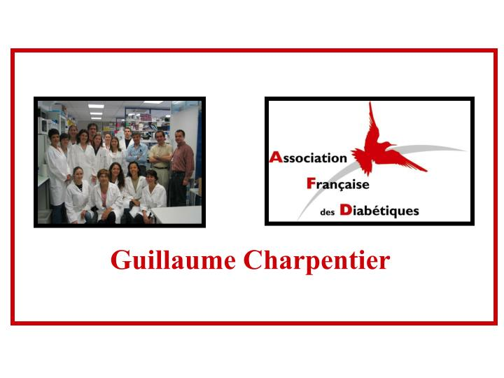 Guillaume Charpentier