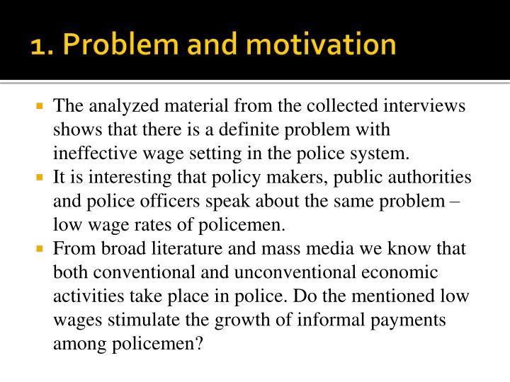 1. Problem and motivation