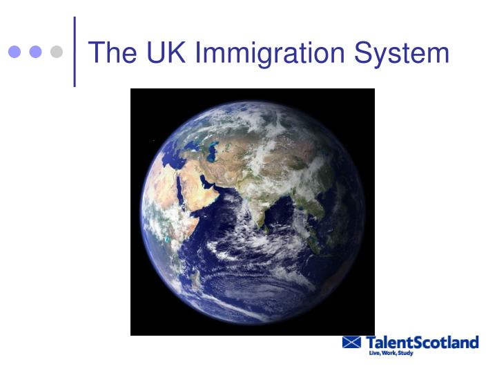 The UK Immigration System