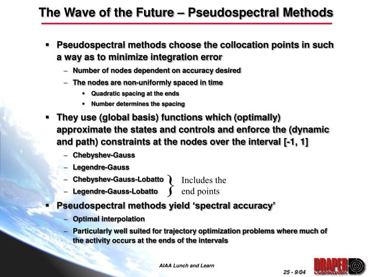 The Wave of the Future – Pseudospectral Methods