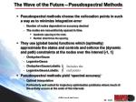 the wave of the future pseudospectral methods
