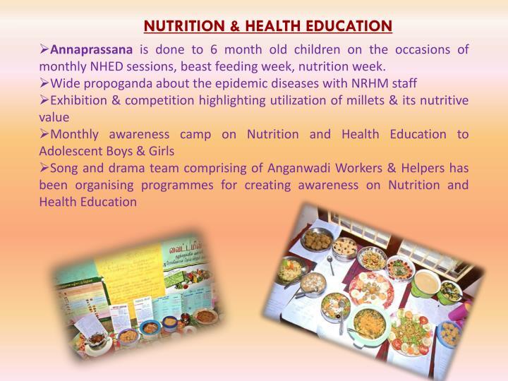 NUTRITION & HEALTH EDUCATION