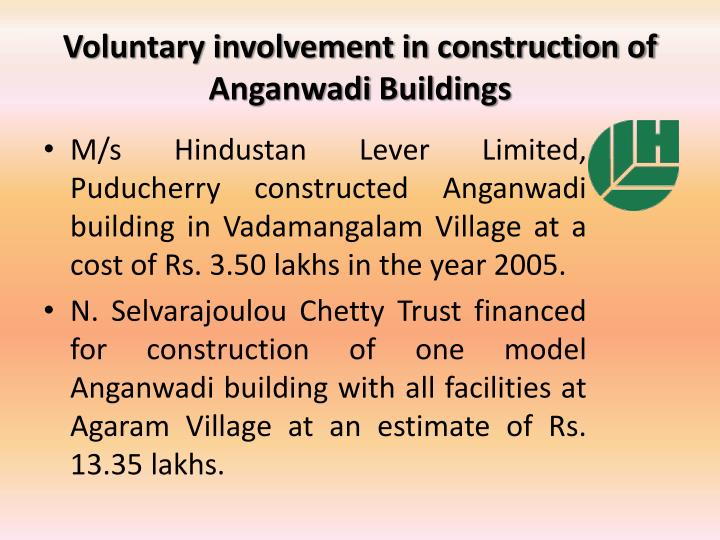Voluntary involvement in construction of