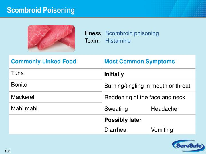 Scombroid poisoning