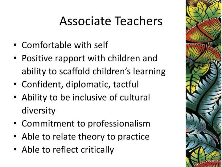 Associate Teachers