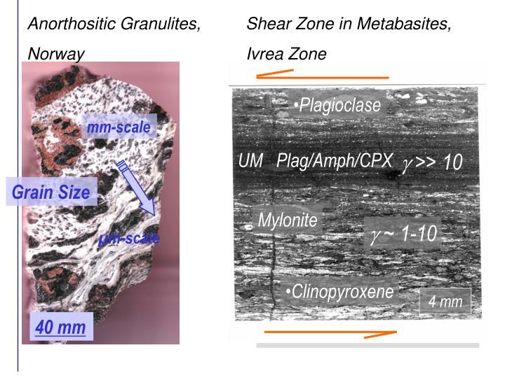 Anorthositic Granulites,