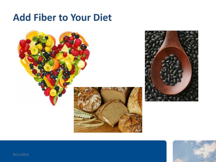 Add Fiber to Your Diet