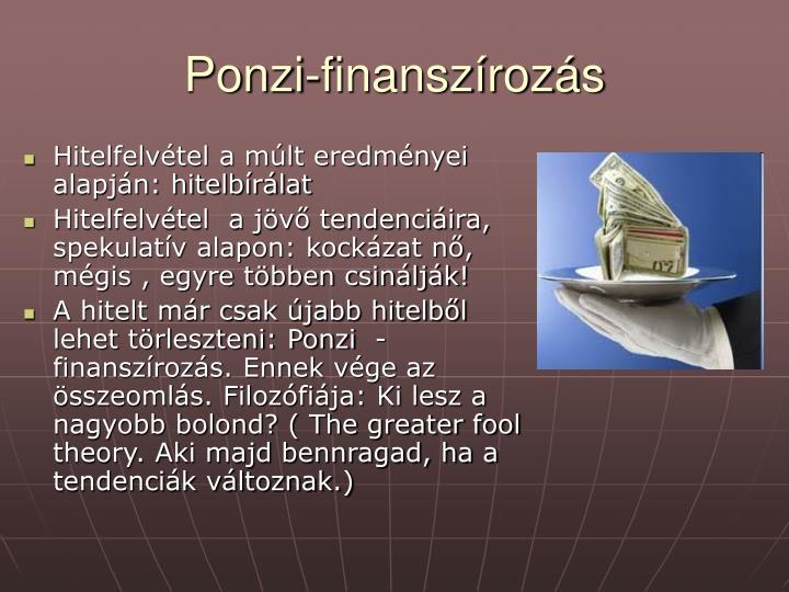 Ponzi-finanszírozás