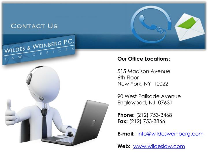 Our Office Locations: