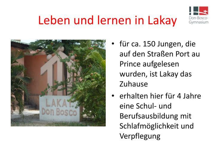 Leben und lernen in Lakay