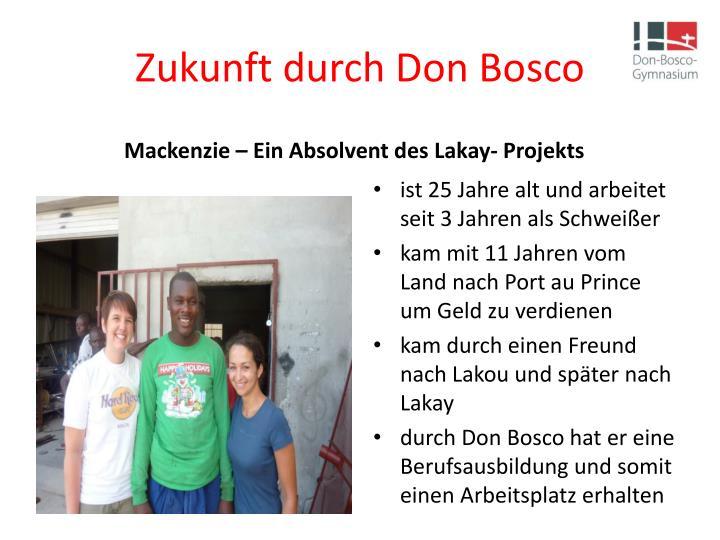 Zukunft durch Don Bosco