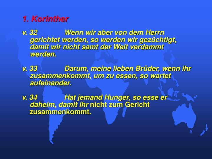 1. Korinther