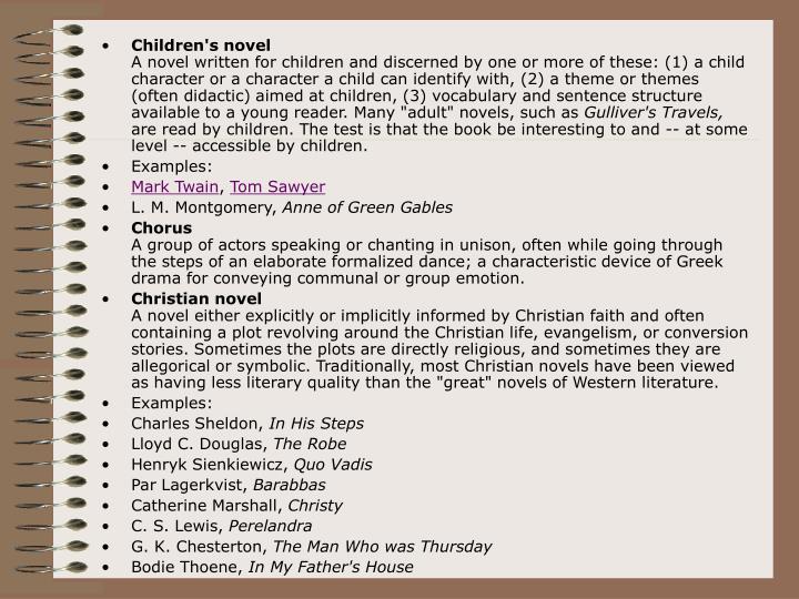 Children's novel