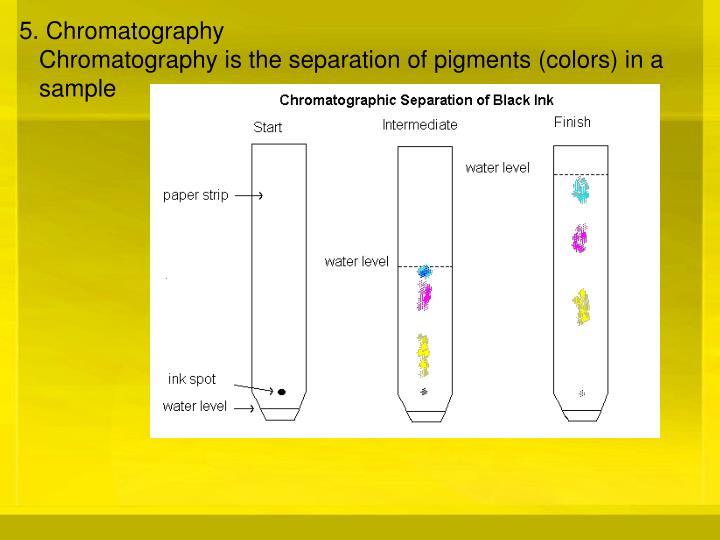 5. Chromatography
