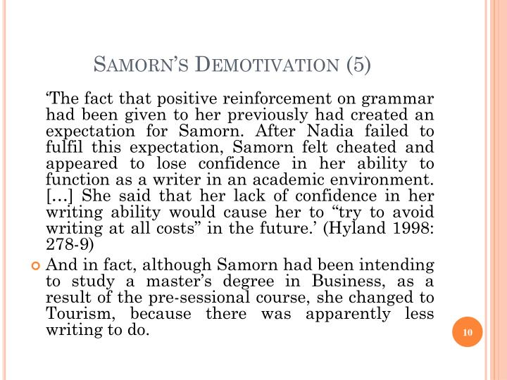 Samorn's Demotivation (5)