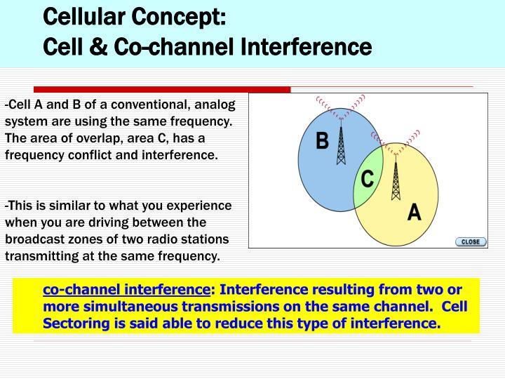 Cellular Concept: