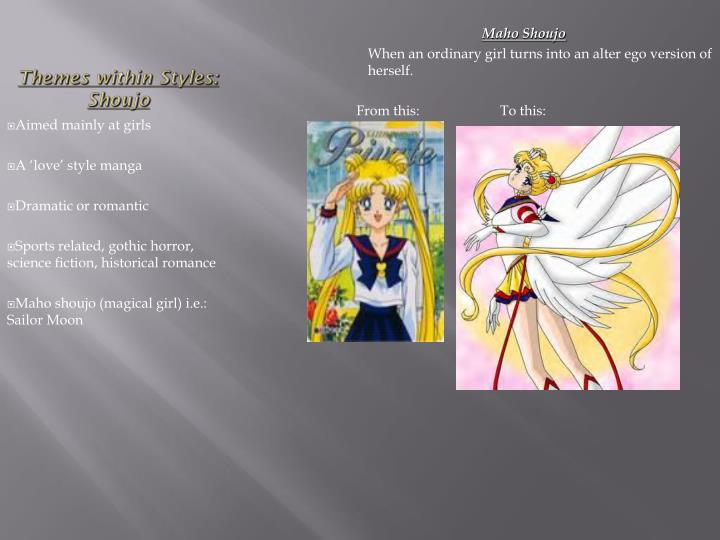 Themes within Styles: Shoujo