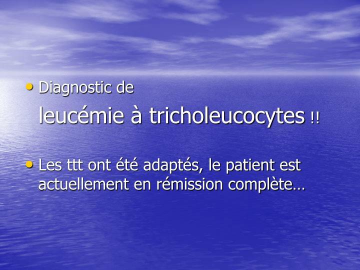 Diagnostic de